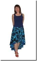 Заочные курсы кройки и шитья. Нарядная юбка — солнце со смещенным центром