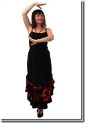 Заочные курсы кройки и шитья. Нарядная длинная юбка с воланами и двумя разрезами по бокам