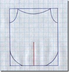 Как научиться шить блузку, завязывающуюся спереди, без выкройки. Чертеж.