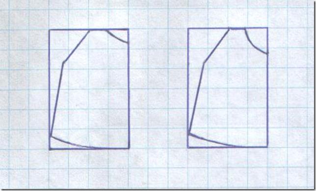 Как научиться шить детский сарафан с объемной аппликацией. Чертеж.