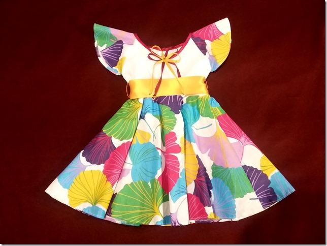 Как научиться шить детское летнее платье без выкройки