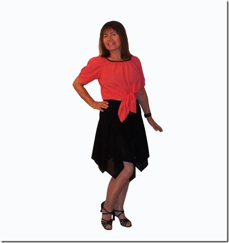 Как научиться шить блузку, завязывающуюся спереди, без выкройки