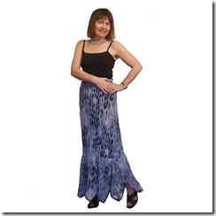 Как научиться шить юбку с фигурным воланом