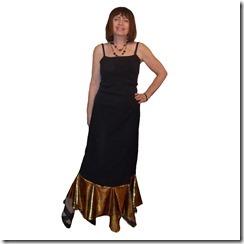 Как научиться шить длинную юбку с воланом. Волан