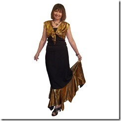 Как научиться шить болеро и нарядную длинную юбку с воланом