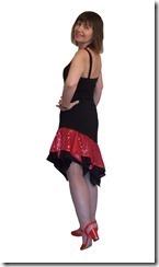 Заочные курсы кройки и шитья. Юбка с ассиметричным подолом для латиноамериканских танцев