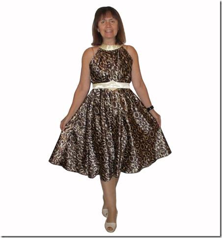 Как научиться шить нарядное платье без выкройки