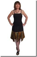 Заочные курсы кройки и шитья. Нарядная юбка с воланом