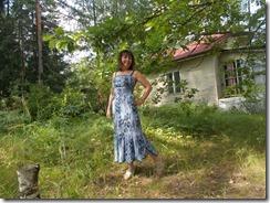 Как научиться шить платье с фигурным воланом
