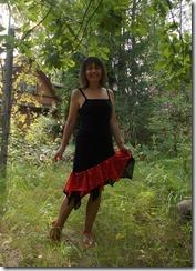 Как научиться шить юбку с асимметричным подолом для латиноамериканских танцев