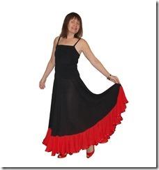 Как научиться шить цыганскую юбку