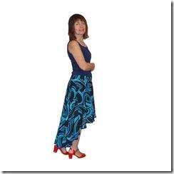 Как научиться шить юбку солнце со смещенным центром