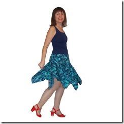 Как научиться шить юбку с воланом