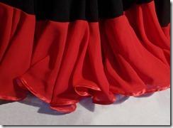 Как научиться шить цыганскую юбку . Волан.
