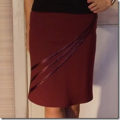Как научиться шить прямую юбку из трикотажа.