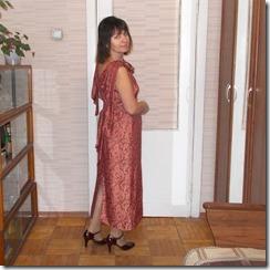 Как научиться шить вечернее платье прямого покроя.