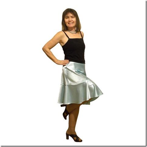 Как научиться шить юбку полусолнце с воланом без выкройки