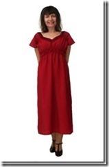 Заочные курсы кройки и шитья. Летнее платье прямого покроя.