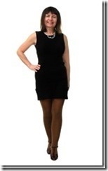 Короткое платье без рукавов из трикотажного полотна