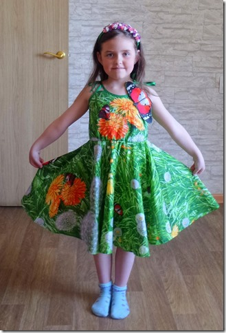 Как научиться шить детский сарафан с объемной аппликацией