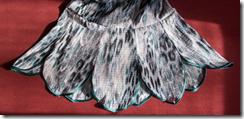 Как научиться шить платье с фигурным воланом. Волан.