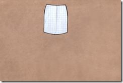 Как научиться шить юбку с воланом. Выкройка.