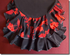 Как научиться шить юбку с воланами и двумя разрезами по бокам. Воланы