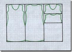 Как научиться шить платье из трикотажа. Чертеж.